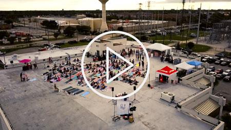 Rooftop Yoga Video